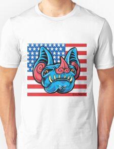 Patriotic Bat Unisex T-Shirt