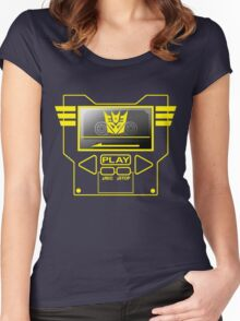 SOUNDWAVE Women's Fitted Scoop T-Shirt