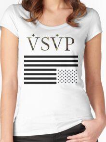 ASAP - Logo Women's Fitted Scoop T-Shirt