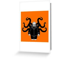 BIG HERO SLENDER Greeting Card