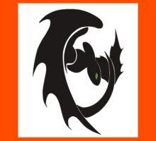 How To Train Your Dragon Nightfury Symbol Kids Tee