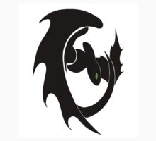 How To Train Your Dragon Nightfury Symbol Kids Tee