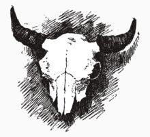 Steer Skull Tee T-Shirt