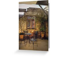 Coffee nook ~ Licorice Factory ~ Junee NSW Greeting Card