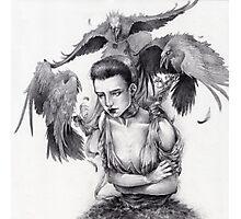 Darkest Birds Photographic Print