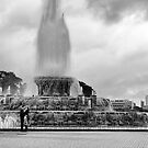 Lovers at the Fountain by James Watkins