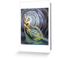 Dance of Creation Greeting Card