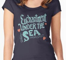 Enchantment under the sea Women's Fitted Scoop T-Shirt