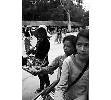 Cambodian childhood Photographic Print