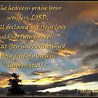 The Heavens Praise by Glenn McCarthy
