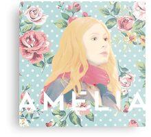 Amelia Pond Metal Print