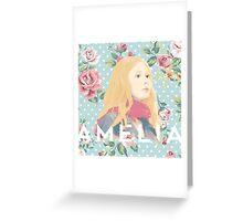 Amelia Pond Greeting Card