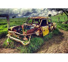 Weathered Photographic Print