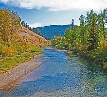 Early Fall on the Big Blackfoot, Powell County, Montana, USA by Bryan D. Spellman