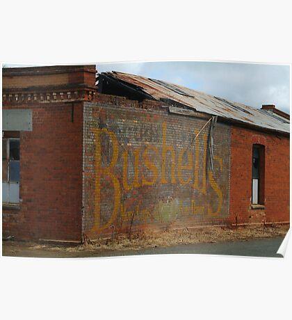 Bushells Tea Poster
