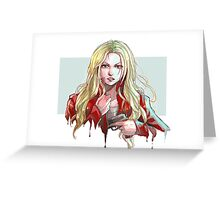Once Upon a Time Emma Swan Greeting Card