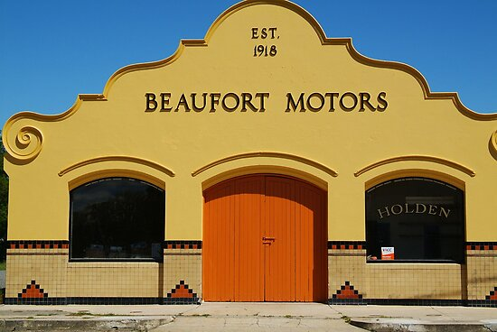 Beaufort Motors by Joe Mortelliti