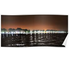 Calf Pasture at Night Poster