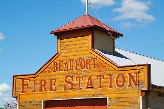 Beaufort Fire Station by Joe Mortelliti