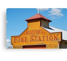 Beaufort Fire Station Canvas Print