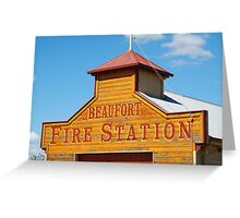 Beaufort Fire Station Greeting Card