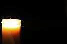 "A single flame by Christine ""Xine"" Segalas"