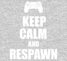 Gamer, Keep calm and... respawn! Kids Tee