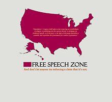 free speech zone Unisex T-Shirt