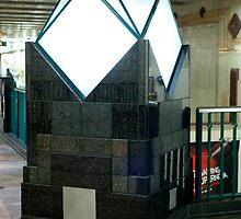 Light in the Tunnel station by Rene Fuller