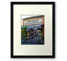 Ramsey Ironmonger Framed Print