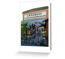 Ramsey Ironmonger Greeting Card