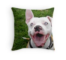 Smile Even If It Does Make You Look Goofy! Throw Pillow