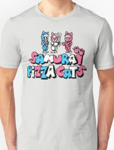 Pizza Cats 8bit T-Shirt