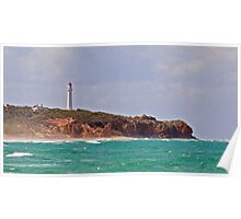 Split Point Lighthouse (4), Aireys Inlet, Great Ocean Road Poster