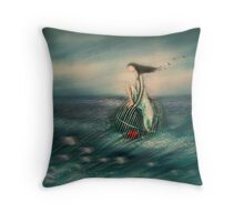 my heart is captured Throw Pillow