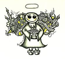 Happy Birthday by Lisa Frances Judd~QuirkyHappyArt