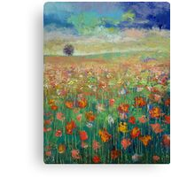 Dancing Canvas Print
