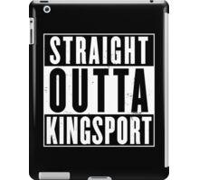 Straight Outta Kingsport iPad Case/Skin