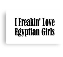 Egypt Canvas Print