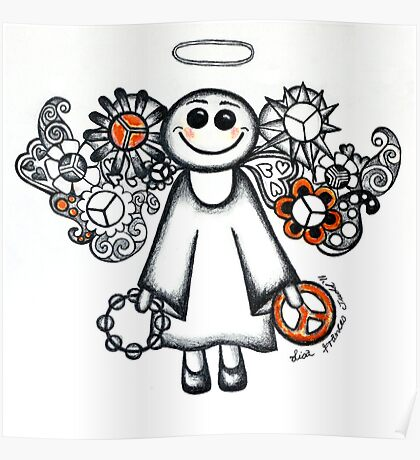 Peace Angel Poster