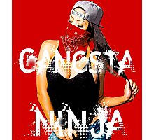 Gangsta Ninja Photographic Print
