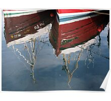 Around the Harbours - Reflections Poster