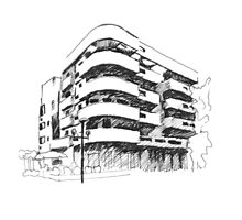 Tel Aviv Bauhaus  by SusannahH