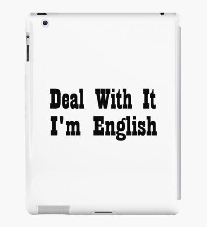 English iPad Case/Skin
