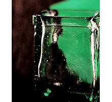 green and clear Photographic Print