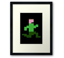 That Dude in the Jungle... Framed Print