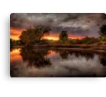River Light Canvas Print
