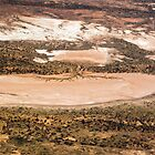 Aerial view of the South Australian Outback 415 by haymelter