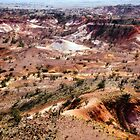 Anna Creek Painted Hills, Outback South Australia 641 by haymelter