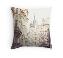 prague Throw Pillow